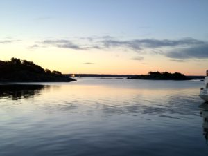 The Gothenburg archipelago at dawn
