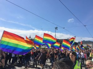 These days, Gothenburg is also a welcoming place for the LGBT community, one of two locations for this year's EuroPride. Love is love, right?