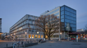 "The headquarters of our local electricity company, Göteborg Energi. We call it ""Elyséepalatset"""
