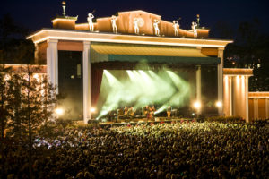 The big stage at Liseberg. Photo: Liseberg
